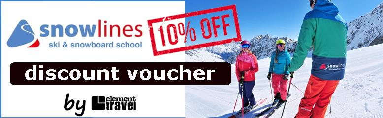 Snowline Voucher Gutschein Skischule Rabatt Sölden